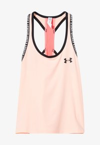 Under Armour - KNOCKOUT TANK - Sports shirt - peach frost/eclectic pink - 2