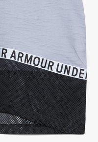 Under Armour - CHARGED TAPED - Triko spotiskem - purple dusk/black - 4
