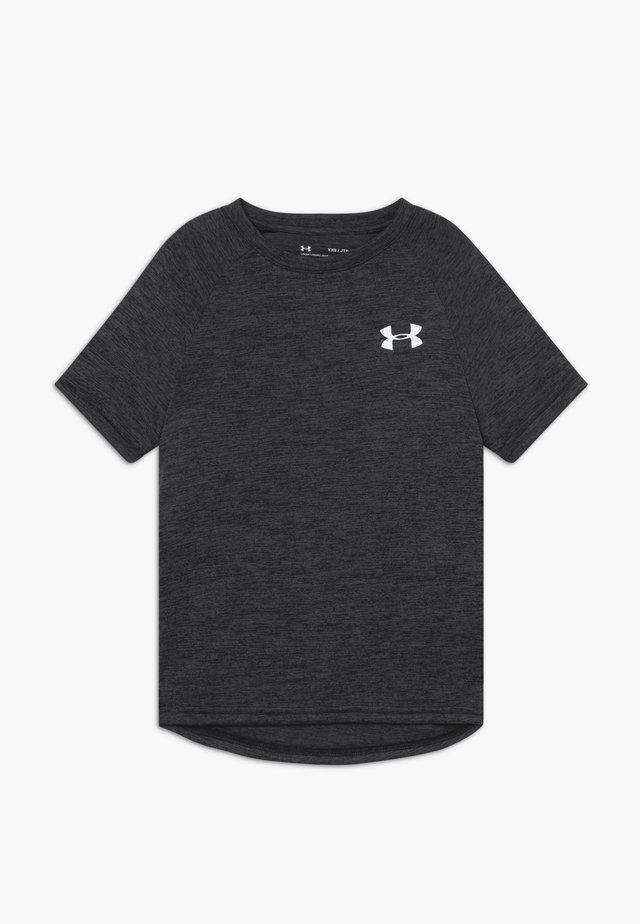 TECH - Print T-shirt - black/white