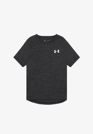 TECH - T-shirt imprimé - black/white