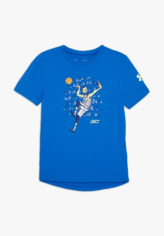 SC30 SELFIE TEE - T-shirt con stampa - versa blue/x ray