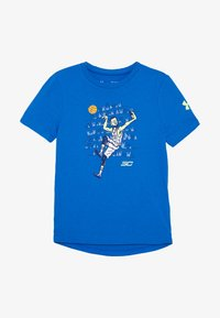 Under Armour - SC30 SELFIE TEE - T-shirt z nadrukiem - versa blue/x ray - 2