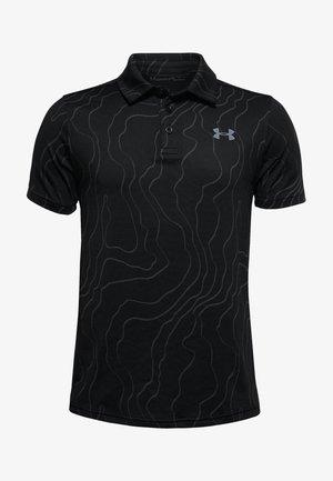 UA PLAYOFF POLO - Poloshirt - black