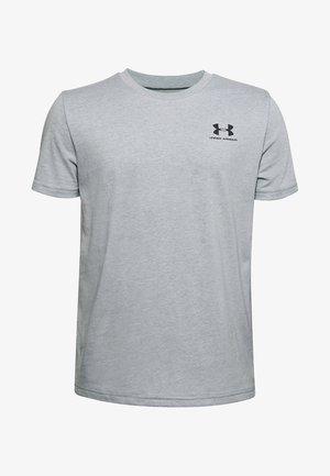 UA SPORTSTYLE LEFT CHEST SS - Basic T-shirt - grey