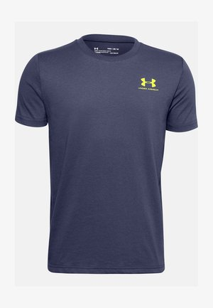 UA SPORTSTYLE LEFT CHEST SS - T-shirt basic - blue ink