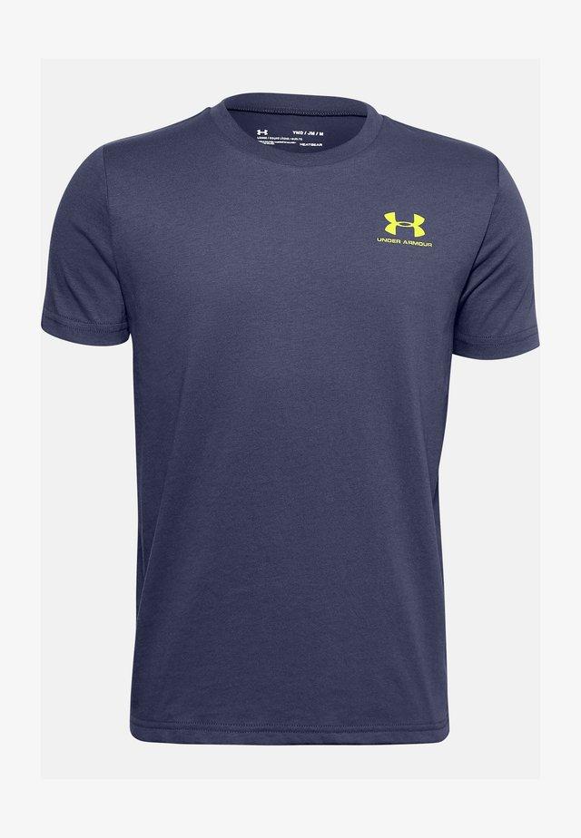 UA SPORTSTYLE LEFT CHEST SS - Basic T-shirt - blue ink