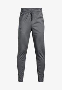 Under Armour - BRAWLER TAPERED PANT - Pantalones deportivos - graphite - 0