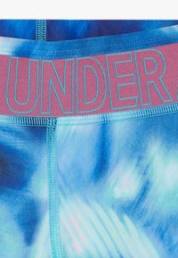 Under Armour - PRINTED ANKLE CROP - Leggings - breathtaking blue/pace pink - 2