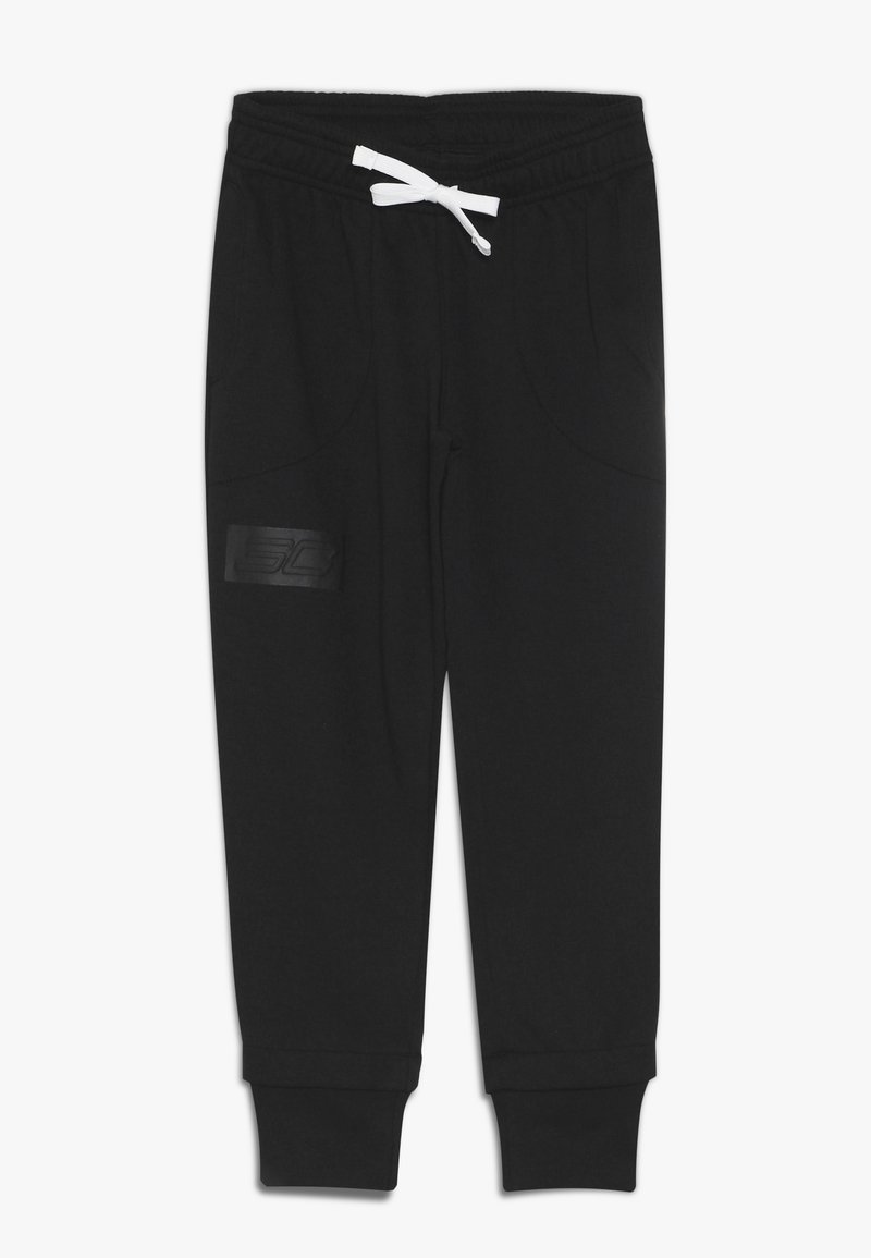 Under Armour - SC30 LIFESTYLE WARM UP BOTTOM - Club wear - black/white