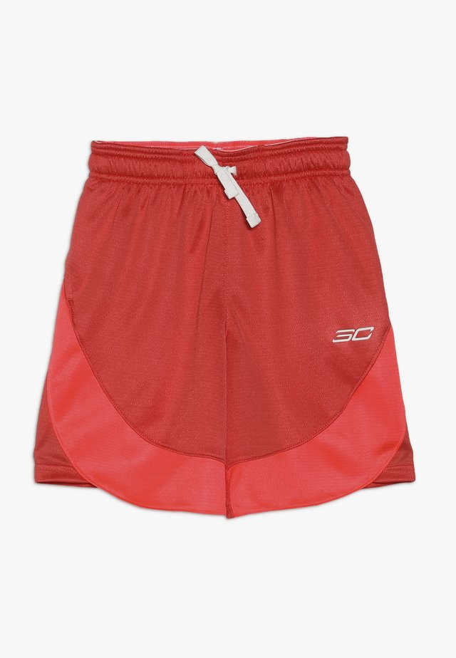 SHORT - Pantaloncini sportivi - martian red/onyx white