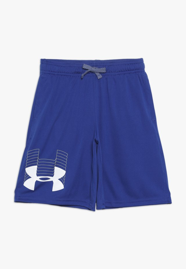 PROTOTYPE LOGO SHORT - Sports shorts - royal/white