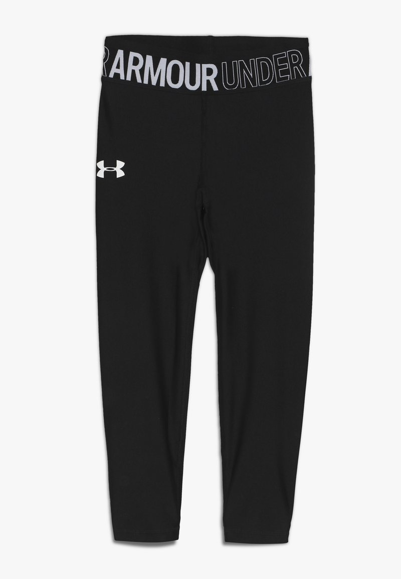 Under Armour - ANKLE CROP - Trikoot - black/white