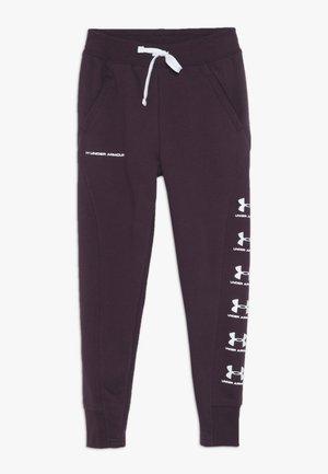 RIVAL - Pantalones deportivos - kinetic purple/white