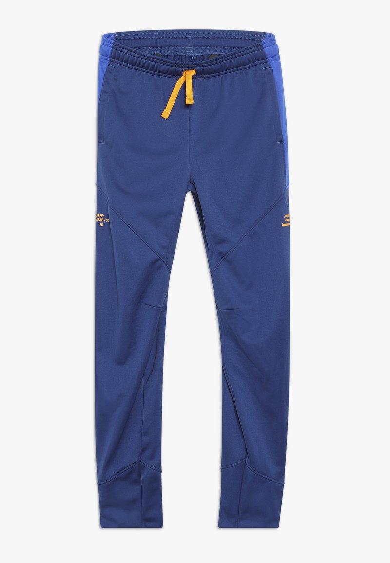 Under Armour - CURRY WARMUP PANT - Teplákové kalhoty - american blue/versa blue/koda orange