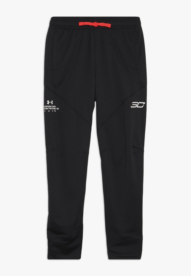 CURRY WARMUP PANT - Pantaloni sportivi - black/beta/white