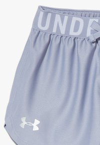 Under Armour - PLAY UP SOLID SHORTS - Sports shorts - purple dusk /metallic silver - 3