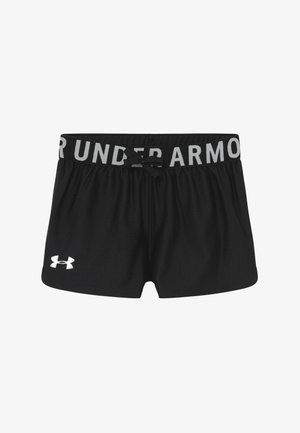 PLAY UP SOLID SHORTS - Pantaloncini sportivi - black/metallic silver