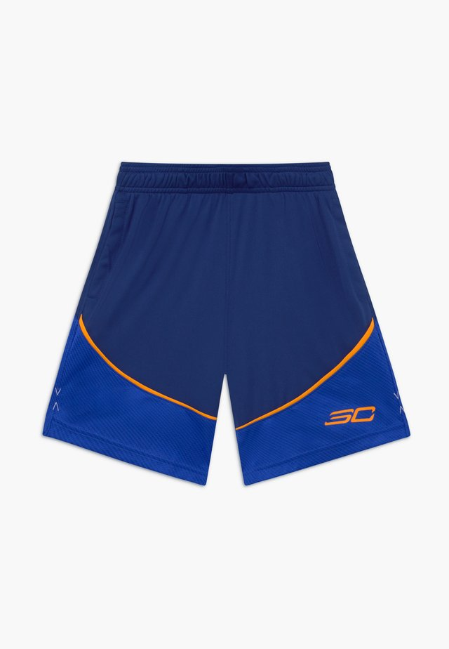 CURRY SHORT - Short de sport - american blue/versa blue/koda orange