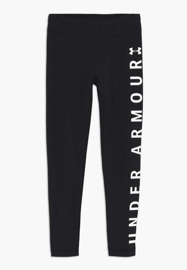 SPORTSTYLE BRANDED LEGGINGS - Collant - black/white