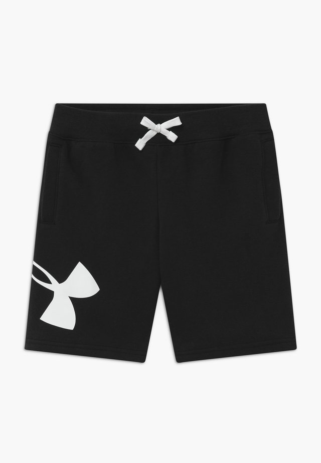 LOGO - Short de sport - black/white