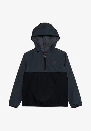 PACKABLE ZIP JACKET - Sportovní bunda - pitch gray/black
