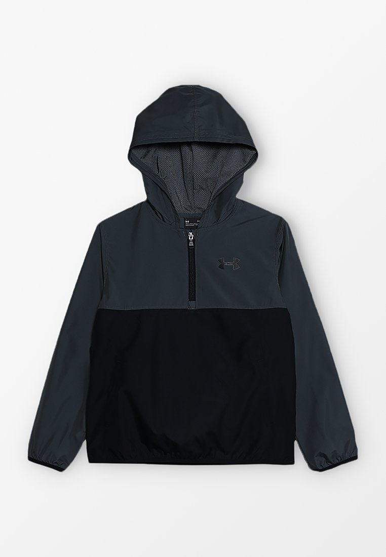 Under Armour - PACKABLE ZIP JACKET - Training jacket - pitch gray/black