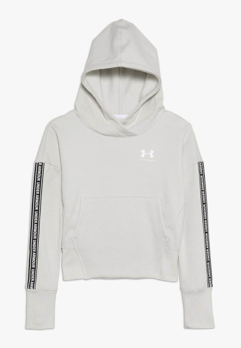 Under Armour - SPORTSTYLE HOODY - Sweat à capuche - summit white/white