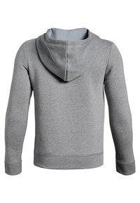 Under Armour - Zip-up hoodie - steel light heather - 1