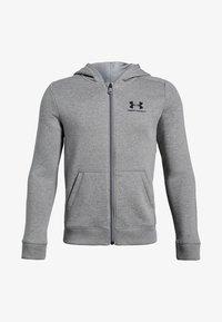 Under Armour - Zip-up hoodie - steel light heather - 0