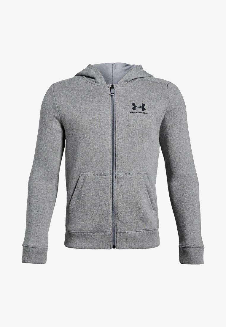 Under Armour - Zip-up hoodie - steel light heather