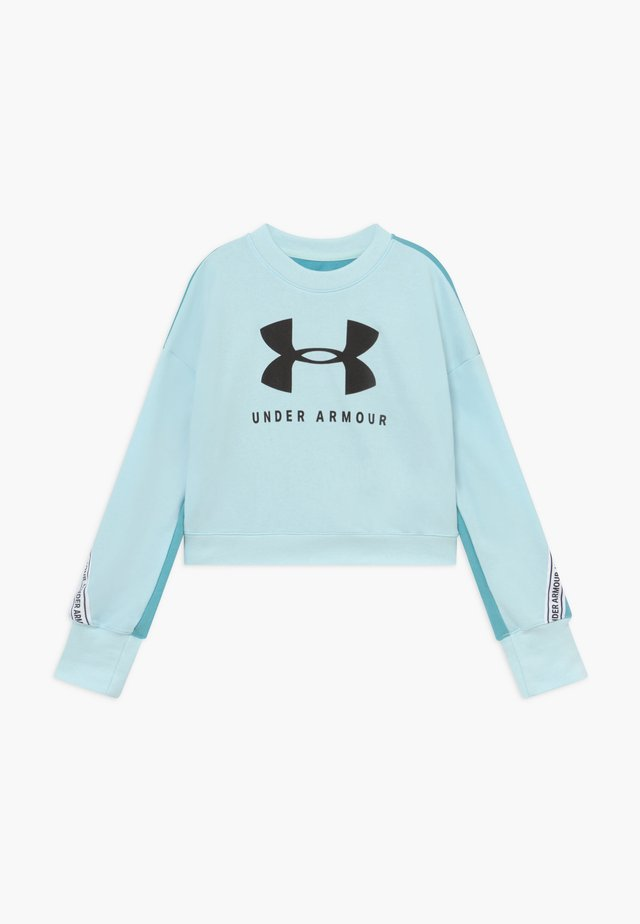CREW - Sweatshirt - rift blue/black
