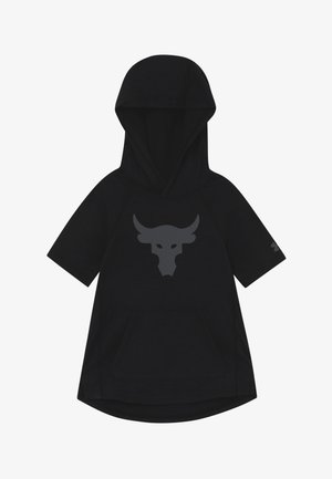 PROJECT ROCK HOODY - T-shirt con stampa - black/pitch gray