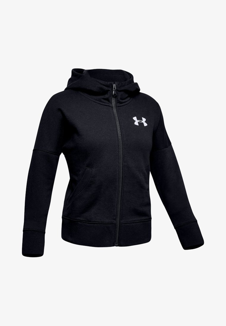 Under Armour - Zip-up hoodie - black