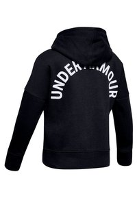 Under Armour - Zip-up hoodie - black - 1