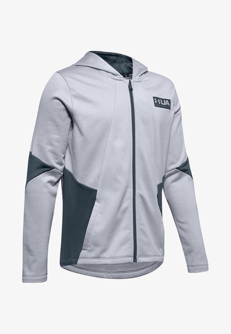 Under Armour - Zip-up hoodie - mod grey