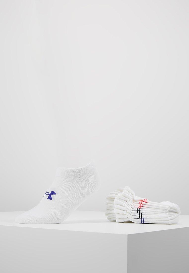Under Armour - GIRLS ESSENTIAL 6 PACK - Sportovní ponožky - white