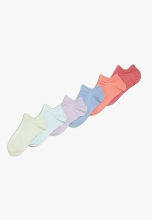 GIRLS ESSENTIAL 6 PACK - Sportovní ponožky - blitz red/penta pink/white