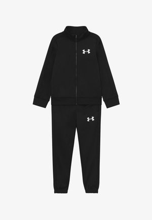 TRACK SUIT SET - Trainingspak - black /white