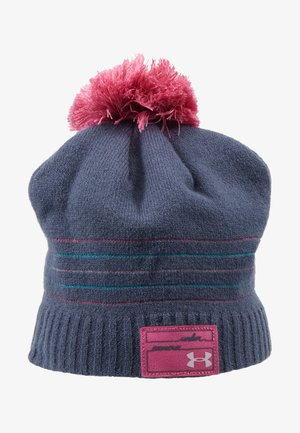 GIRL'S TRIPLE SCOOP BEANIE - Čepice - downpour gray/pace pink/pink fog