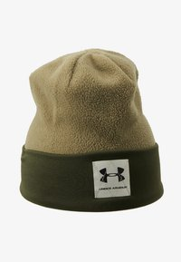 Under Armour - BOYS UNSTOPPABLE BEANIE - Muts - outpost green/guardian green/black - 1