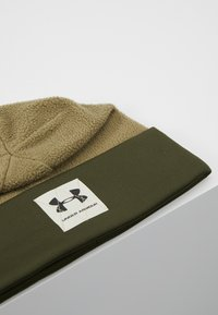 Under Armour - BOYS UNSTOPPABLE BEANIE - Muts - outpost green/guardian green/black - 2