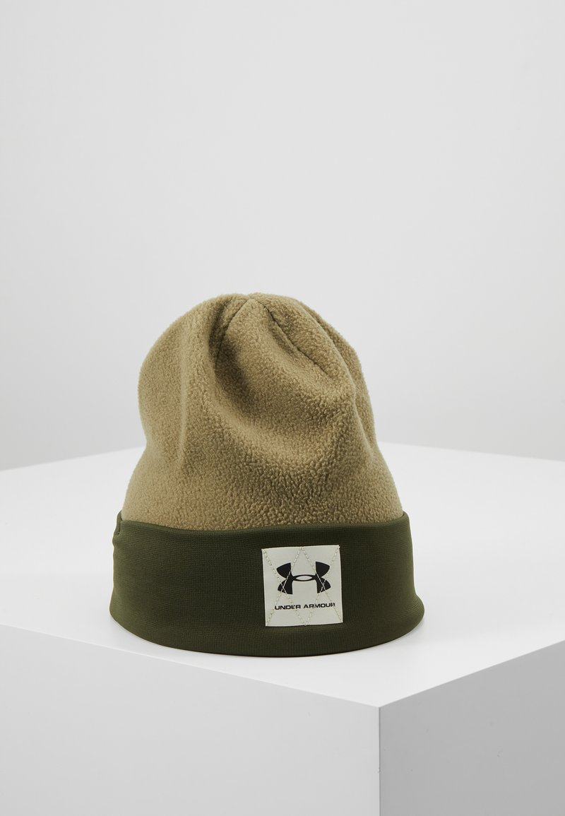 Under Armour - BOYS UNSTOPPABLE BEANIE - Muts - outpost green/guardian green/black
