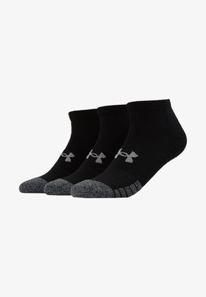 HEATGEAR LOCUT 3 PACK - Sportsocken - black/steel