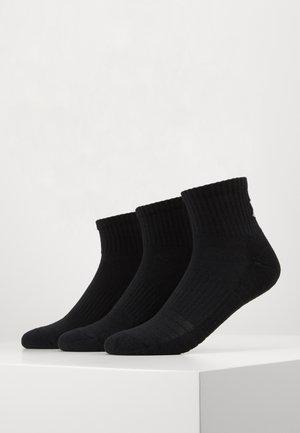 TRAINING 3 PACK - Sports socks - black/steel