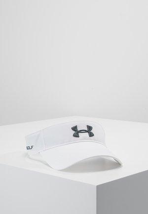 MENS CORE GOLF VISOR - Cap - white/pitch gray