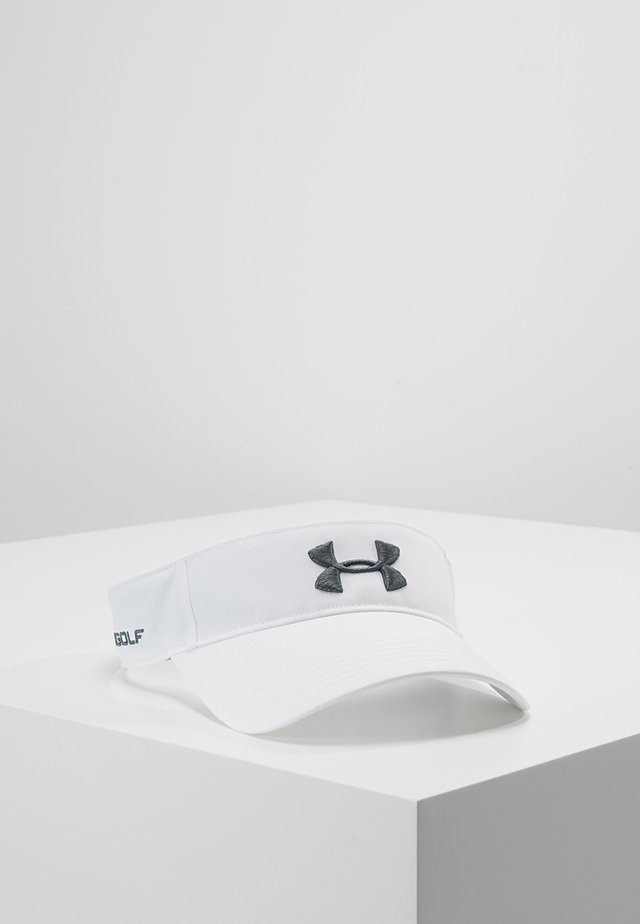 MENS CORE GOLF VISOR - Cappellino - white/pitch gray