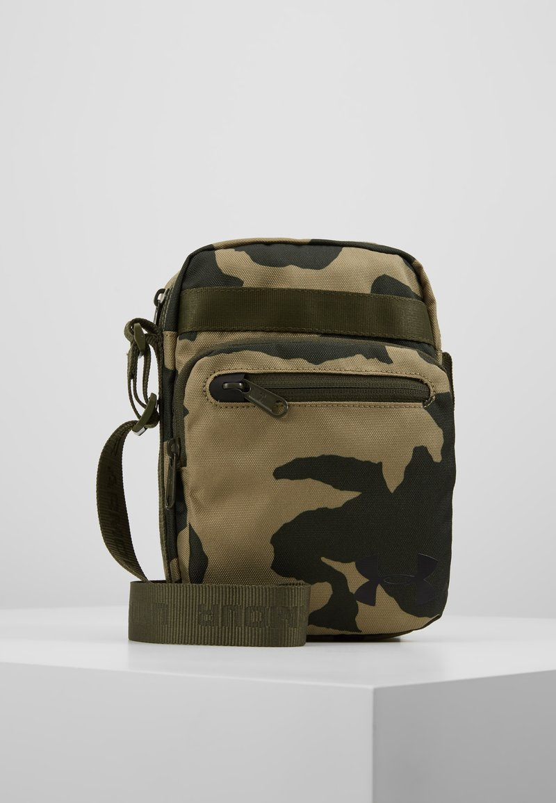 Under Armour - CROSSBODY - Torba na ramię - outpost green/guardian green/black