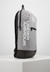 Under Armour - PATTERSON BACKPACK - Tagesrucksack - steel medium heather/black/white - 6