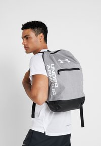 Under Armour - PATTERSON BACKPACK - Tagesrucksack - steel medium heather/black/white - 1