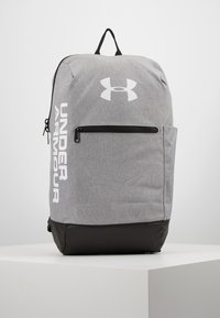Under Armour - PATTERSON BACKPACK - Tagesrucksack - steel medium heather/black/white - 0